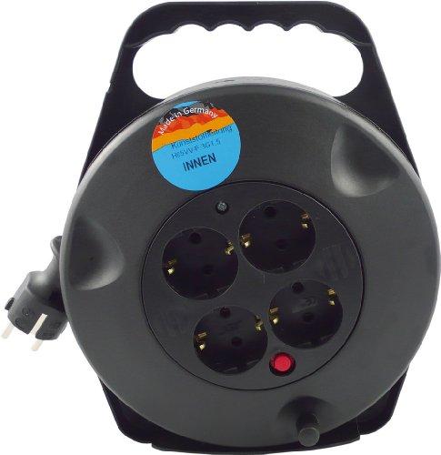REV-Kabeltrommel-4-fach-Stecker-10m-schwarz