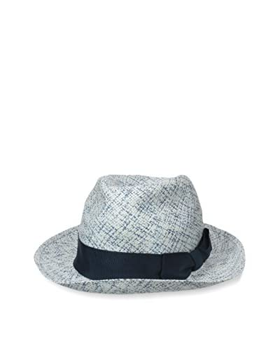 Rossovivo Men's Luis Hat, Blue/White
