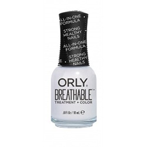 Orly traspirante Nail Lacquer-Trattamento + Colore: Barely There-17G/18Ml