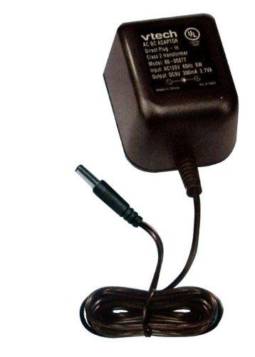 Vtech 80-000878 V.Smile AC Adapter; Converts 120V AC To 9V DC; Black; Input: AC 120V 60Hz 6W; Output: DC 15V (No-Load) 2.7VA; Ideally For Use With DC9V 300mA (Ac Dc Game compare prices)