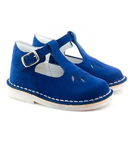 Boni Mini Henry-Sandali Bambino, blu (scamosciato blu), 24