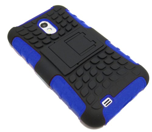 Cell-Nerds NerdShield Armor Case Cover Compatible with The Sprint & Virgin Mobile Samsung Galaxy S2 (SPH-D710) US Cellular Samsung Galaxy S2 (SCH-R760) & Boost Mobile Samsung Galaxy S2 - Cell-Nerds Packagingle Samsung Galaxy S2 (Blue) (Sprint Samsung Galaxy S2 Case compare prices)