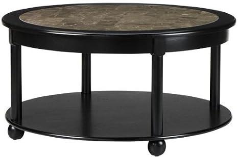 "Essex Coffee Table, 36""DIAMETER, SUFFOLK BLACK"