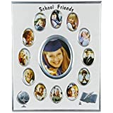 Designer Silver Plated School Photo Frame