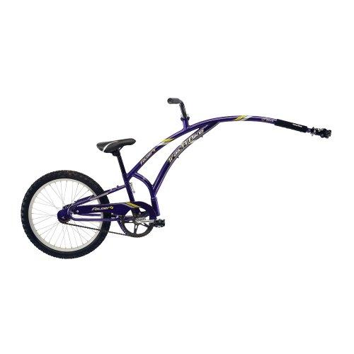 Adams Folder 1 Trail-A-Bike - Purple front-317505