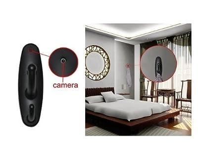 Clothes Hook Motion Detection Camera Hidden DVR Cam 30fps Black