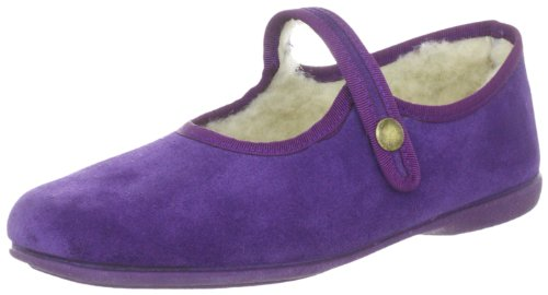 Macarena SERRAJE NEGRO Slippers Womens Purple Violett (Violet) Size: 7 (41 EU)