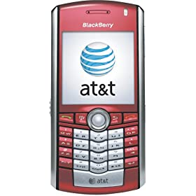 BlackBerry Pearl 8100c Phone, Red (AT&T)