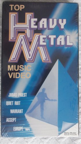 Top Heavy Metal Music Video [VHS]