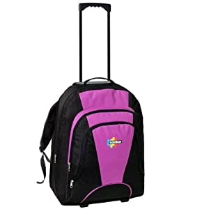 Karabar 42l Maximum Allowance Cabin Wheeled Backpack 55 X 40 X 20 Cm All Parts Included Blackpink by Karabar