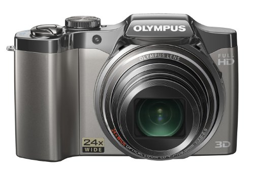 Olympus SZ-30MR 228825 16 MP Digital Camera with Super-Slim 28mm Wide-Angle 24x Optical Zoom and 3.0-Inch LCD (Silver)