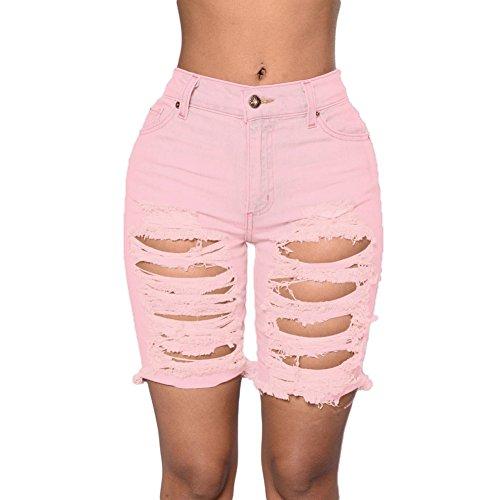 meinice-distressed-cutoff-bermuda-shorts-gr-xxl-rose