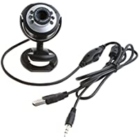 JETTINGBUY 6 LED HD Webcam USB 2.0 50.0M PC Camera Web Cam With MIC