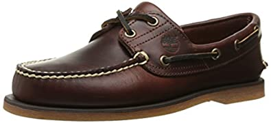 Timberland Men's Classic Boat Shoe,Rootbeer/Brown,6 M
