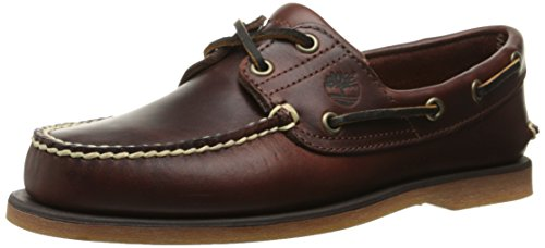 Timberland - Scarpe basse Classic Boat FTM_Classic 2 Eye, Uomo, Marrone (Braun (Rootbeer Smooth)), 41