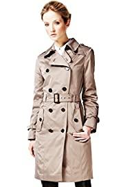 Autograph Stormwear™ Double Breasted Trench Coat with Belt
