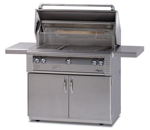 Alfresco Alx2-36C-Lp Lp Standard Grill On Cart, 36-Inch