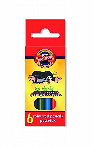 Buntstifte der Kleine Maulwurf 6 Stück Mini Koh-I-Noor