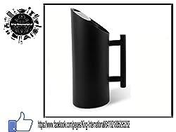 King International Stainless Steel Black Designer Double Metal Walled Water Jug