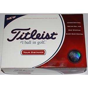 Titleist Tour Distance Golf Balls (One Dozen)