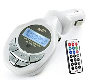 In-Car MP3 Player Wireless FM Radio Transmitter for USB Flash Drive SD Card with 12V Lighter Plug
