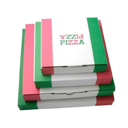 【業務用】ピザボックス|ピザケース|ピザ箱 【12インチ(約33cm)】 ピザパッケージ 50枚入り
