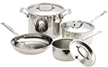 Cuisinart 77-7 Chef s Classic Stainless 7-Piece Cookware Set