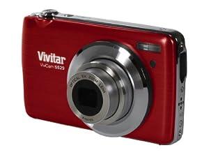 Kompakte Digitalkamera Vivitar VS529 2,7-Zoll-Display 16 Megapixel 5x Zoom Rot