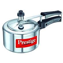 Prestige Nakshatra Aluminium Pressure Cooker, 1.5 Litres