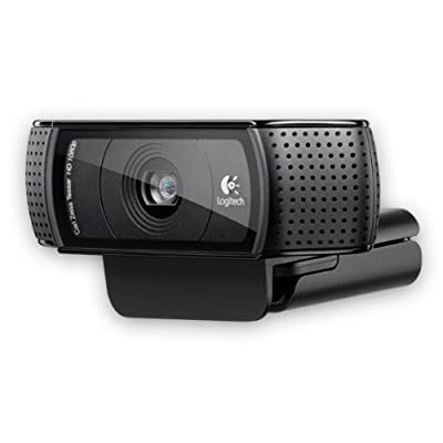Logitech C920 HD Pro Webcam (Black)