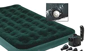 Camping Air Mattress with AC/DC Rechargeable Pump
