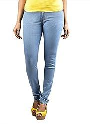 Scilla Women's Skinny Jeans (AR0002, Light Blue)