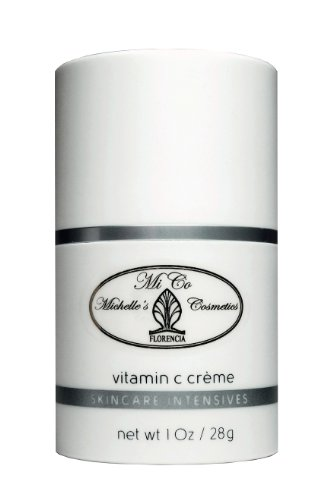 Vitamin C Cream · Mico Michelle'S Cosmetics · Anti Aging Brightening Hydrating C Cream For Dry, Sensitive, Environmentally Damaged Skin - 1 Oz