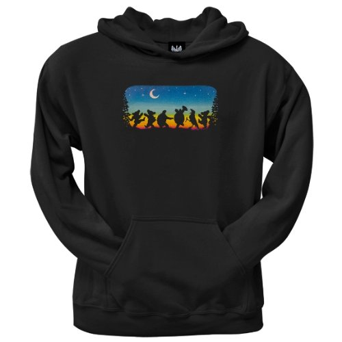 Old Glory Mens Grateful Dead - Moondance Pullover Hoodie - 2X-Large Dark Blue