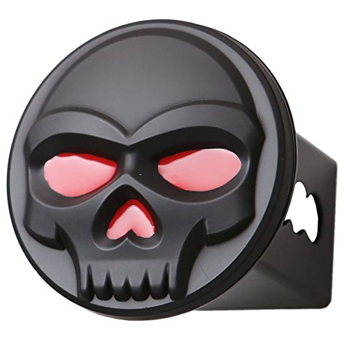Metal Trailer Hitch Cover Fits 2