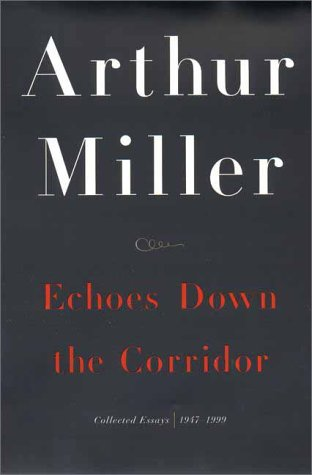 Image for Echoes Down the Corridor: Collected Essays, 1944-2000