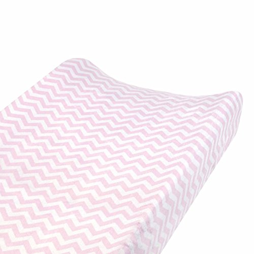 Carter's Changing Pad Cover, Softly Pink Chevron