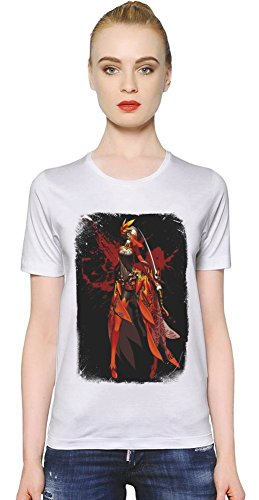 Blade & Soul Red Assassin T-shirt donna XX-Large