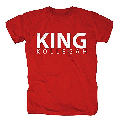 Kollegah-King-Kollegah-T-Shirt-rot