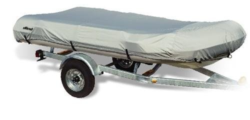 Image of Dinghy (RIB) Boat Cover by Ding/Model D (Grey, Fits: 12.5-Feetx70-Inch Beam idt) (DG-DG)