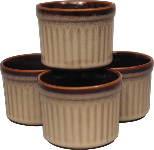 Sango Nova Brown Ramekins, Set of 4 - Buy Sango Nova Brown Ramekins, Set of 4 - Purchase Sango Nova Brown Ramekins, Set of 4 (Sango, Home & Garden, Categories, Kitchen & Dining, Cookware & Baking, Baking, Ramekins & Souffle Dishes)