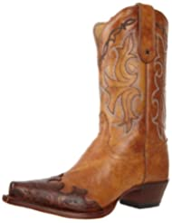 Tony Lama Boots Women's Tan Santa Fe VF6003 Boot