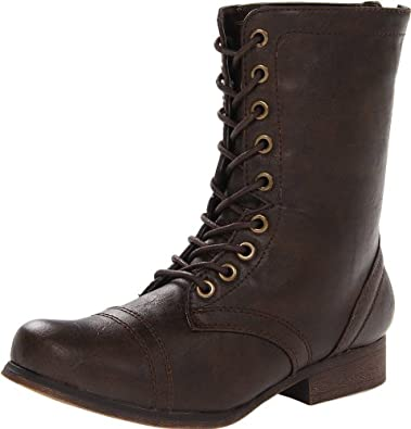 Madden Girl Women's Gavinn Boot,Brown Paris,6.5 M US