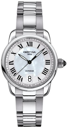 Certina Ladies'Watch XS Analogue Quartz Stainless Steel C025,210,11,118,00