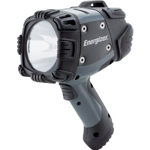 Energizer Hard Case Professional Led Hand Held Spotlight, Black/Gray