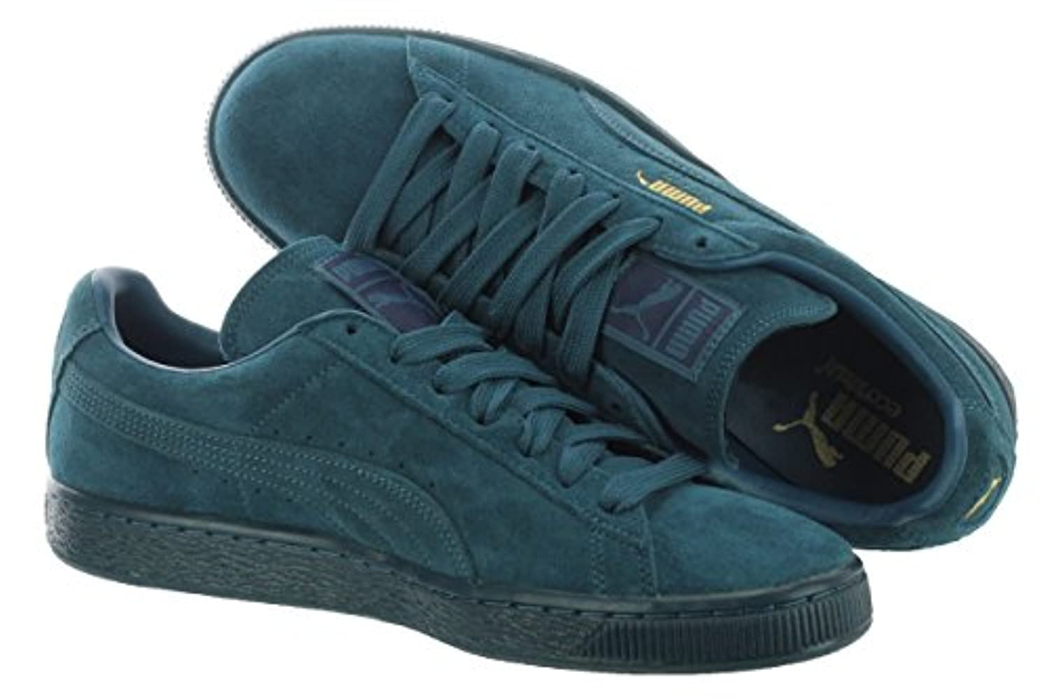 new style f723e 14634 Puma Suede Classic + Mono Iced 36023101 Blue Coral / Team Gold 11 D(M) US  Men | $37.89 - Buy today!