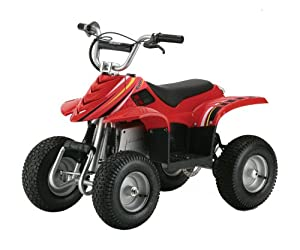 Razor Dirt Quad Electric Four-Wheeled Off-Road Vehicle (Red)