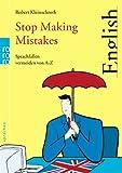 Stop Making Mistakes: Sprachfallen vermeiden von A bis Z title=