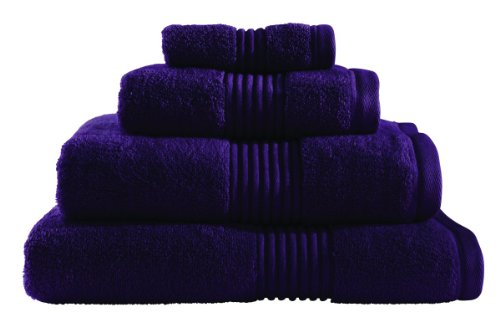 Catherine Lansfield Zero Twist Bath Towel, Blueberry