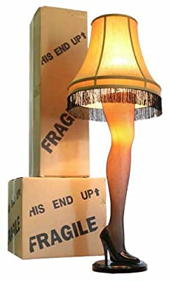 A Christmas Story Leg Lamp (Fragile)